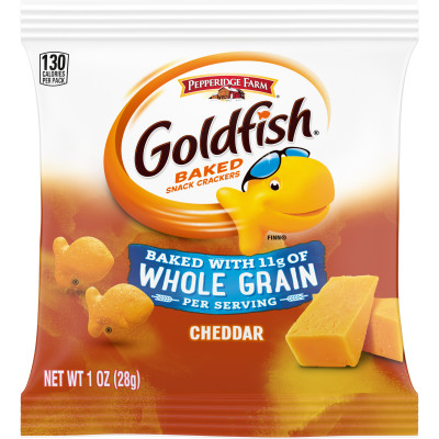 Pepperidge Farm® Goldfish Whole Grain Snack Crackers, Cheddar