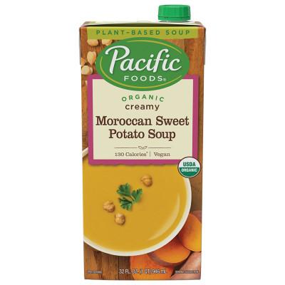 Organic Creamy Moroccan Sweet Potato Soup