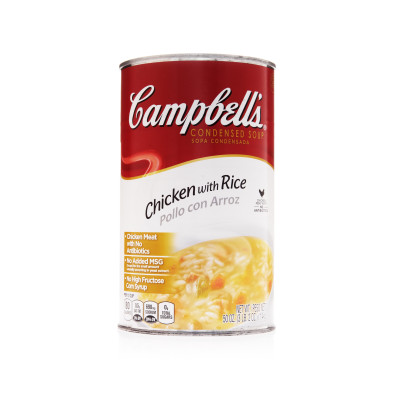 Campbell's® Classic Condensed Chicken with Rice Soup