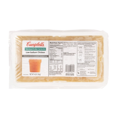 Campbell's® Signature Frozen Low Sodium Chicken Culinary Foundation