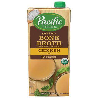 Organic Salted Chicken Bone Broth