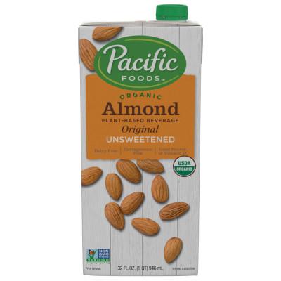Organic Unsweetened Almond Original Beverage