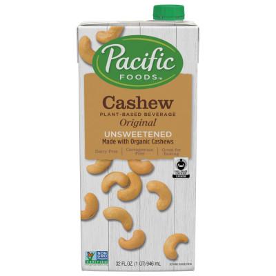 Fair Trade Made with Organic Cashew Unsweetened Original Beverage