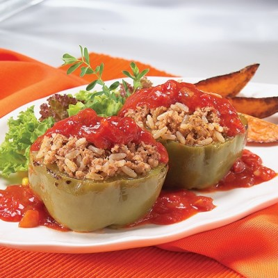 Campbell's® Frozen Entrées Traditional Stuffed Green Peppers
