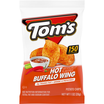 Hot Buffalo Wing Flavored Potato Chips