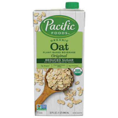 Organic Reduced Sugar Oat Original Beverage