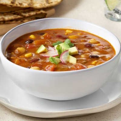 Campbell's® Signature Frozen Ready to Eat Soup Southwest Vegetarian Chili