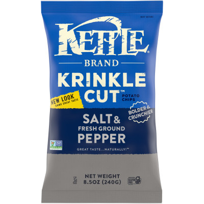Krinkle Cut Salt & Fresh Ground Pepper Potato Chips