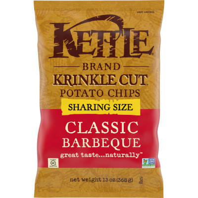 Krinkle Cut Classic Barbeque Potato Chips