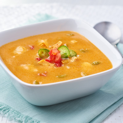 Campbell's® Signature Frozen Condensed Cheesy Chicken Tortilla Soup