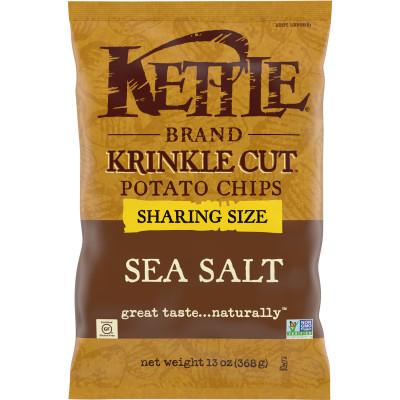 Krinkle Cut Sea Salt  Potato Chips
