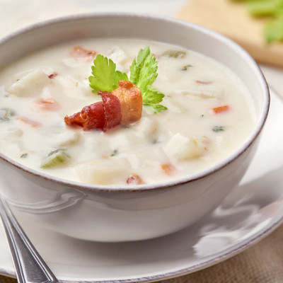 Campbell's® Signature Frozen Condensed Cream of Potato with Bacon Soup