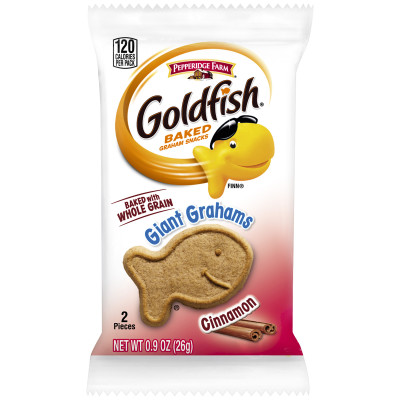 Pepperidge Farm® Goldfish Whole Grain Giant Grahams, Cinnamon