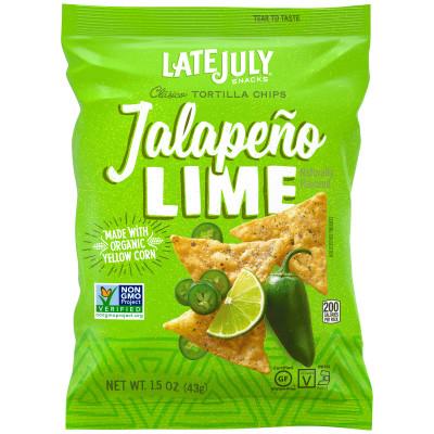Jalapeño Lime Tortilla Chips