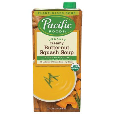 Light Sodium Organic Butternut Squash Soup