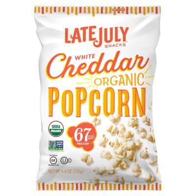 White Cheddar Organic Popcorn