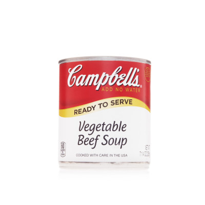 Campbell's® Classic Ready to Serve Vegetable Beef Soup