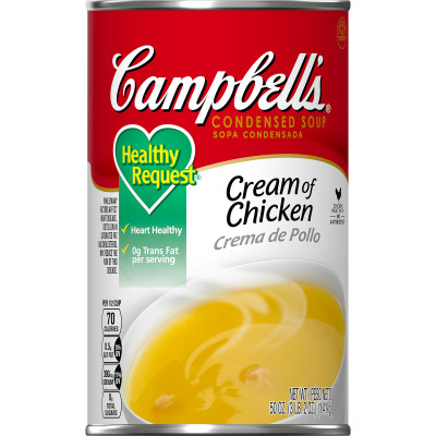 Campbell's® Classic Condensed Healthy Request Cream of Chicken Soup