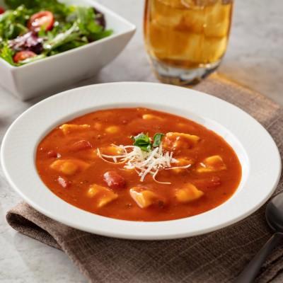 Campbell's® Signature Frozen Condensed Vegetarian Tomato Ravioli Soup