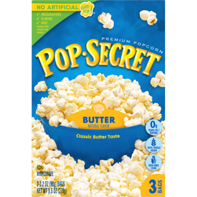 Butter Microwave Popcorn