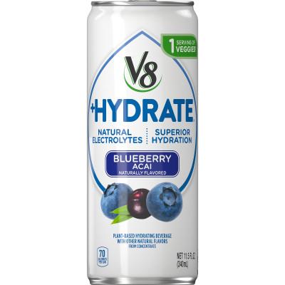 V8 +HYDRATE Blueberry Acai