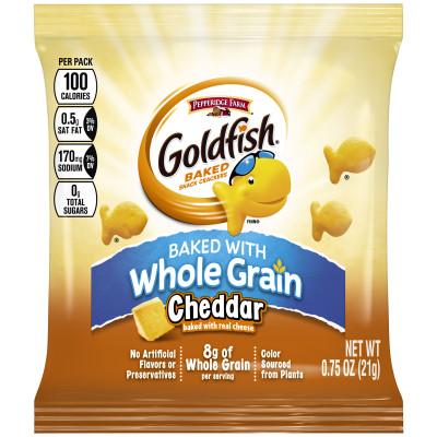 Pepperidge Farm® Goldfish Whole Grain 100 Calorie Snack Crackers, Cheddar