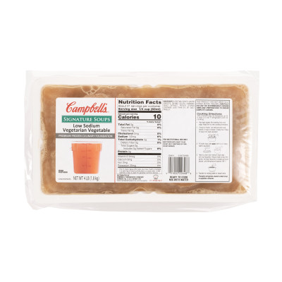 Campbell's® Signature Frozen Low Sodium Vegetarian Vegetable Culinary Foundation