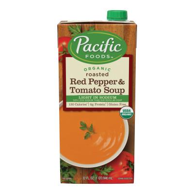 Light Sodium Organic Creamy Roasted Red Pepper & Tomato Soup