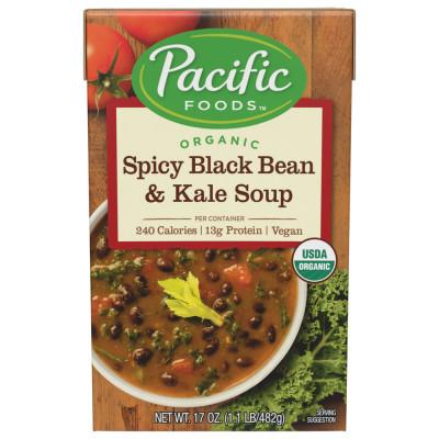 Organic Spicy Black Bean & Kale Soup