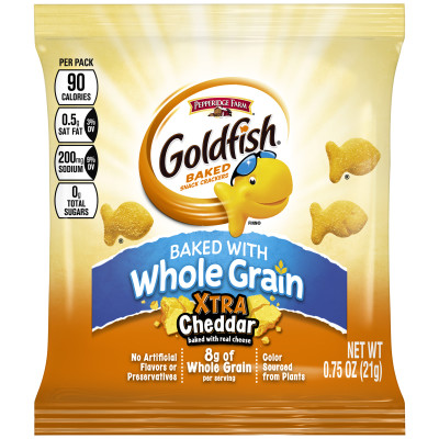 Pepperidge Farm® Goldfish Whole Grain Snack Crackers, Xtra Cheddar