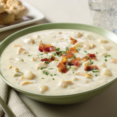 Campbell's® Signature Frozen Condensed Boston Clam Chowder Soup