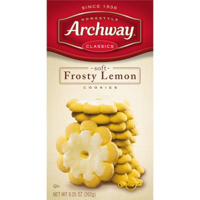 Frosty Lemon Soft Cookies