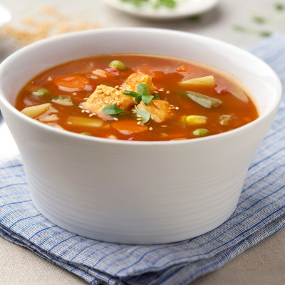 Campbell's® Signature Frozen Condensed Vegetarian Garden Vegetable Soup