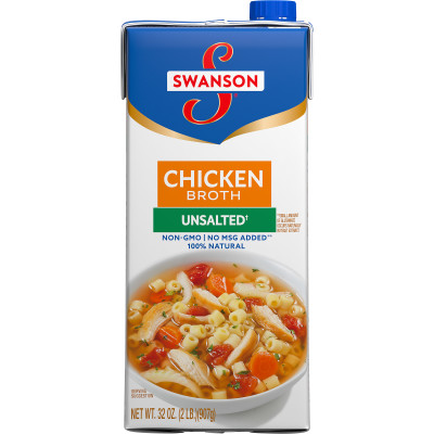 Unsalted Chicken Broth