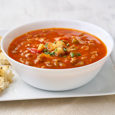 Campbell's® Signature Frozen Condensed Healthy Request Homestyle Sweet Pepper and Beef Soup