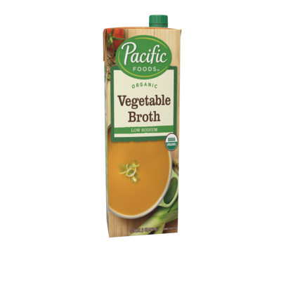 Organic Low Sodium Vegetable Broth