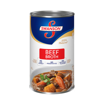 Swanson® Classics Collection Beef Broth, 100% Fat Free, Recipe Starter